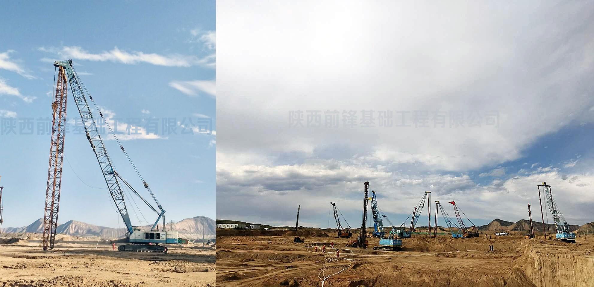 江苏万科城工程一期A标段强夯地基项目正式开装饰设计兰州图片