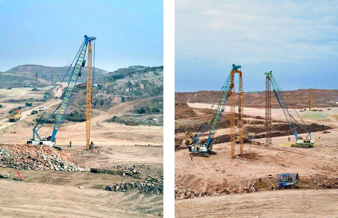 成都天府国际机场一期工程地基处理及土石方工程(04)标段强夯施工
